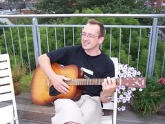 Matt with guitar
