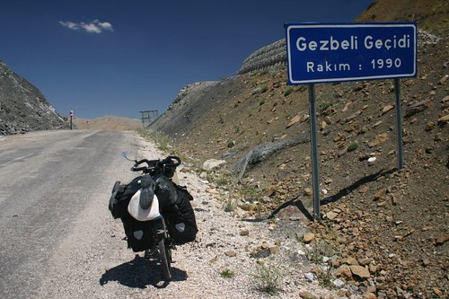 The mountain pass of the day: Gezbeli Gecidi at 1990m