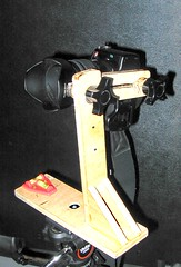 Home made nodal tripod mount