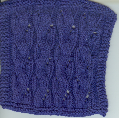 July Mid-Month KAL Dishcloth