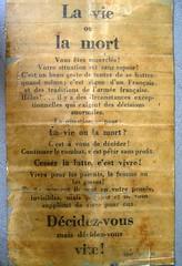 BM 24 - Obenheim janvier 1945 - Tract