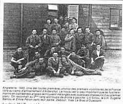 1940 - Aldershot - Fusiliers Marins