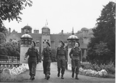 BM XI - Cadet - A Ribbesford Jean-Paul Lavoix (Leclerc) - Reynold LEFEBVRE (BM XI) et les frères Richard - Copyright ASCFL
