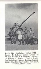 Après Bir Hakeim, juillet 1942. Héliopolis (Egypte) Françaislibres.net