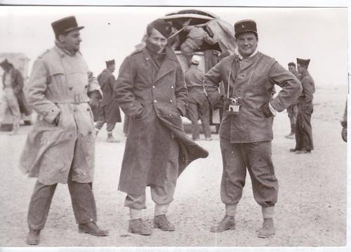 Libye Janvier 1943 - BM XI : Magny (?) , Moguez Hugo