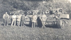 Trois chars du RFM et leurs équipages