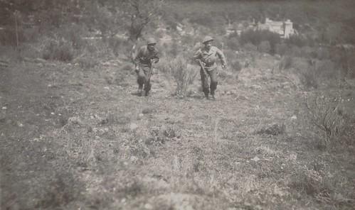 1945 Avril- Alpes Maritimes - BM XI - ADjudant Cruciani