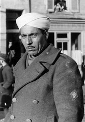 Décembre 1944 - Soldat du 22e BMNA (?) à Guéret (Creuse) - posté par Simon Militaria sur FB 1ère DFL