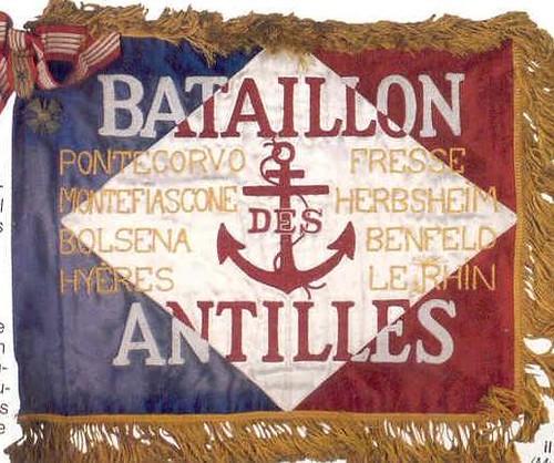 Fanion du Bataillon des Antilles