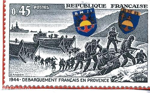 BM 21 dans le Débarquement de Provence