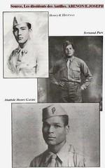 Trois dissidents des Antilles : Henry Henelon, Anatole Galiby et Fernand Pain