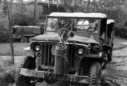Décembre 1944 - La DFL à Guéret (Creuse) - posté par Simon Militaria sur FB 1ère DFL
