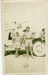 Spahis - Libye 1942- Etienne Bouchard au centre - Emile Pagliantini à droite - epagliffl.canalblog.com