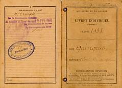 Angleterre - Tampon de l'immigration officer de Falmouth le 20 juin 1940 de Louis Quinquis - Col. Alain Quinquis