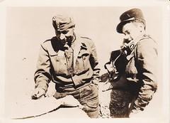 1942 - Soldat Polonais et soldat 13 DBLE à Bir Hakeim - Col. Grégoire Payelle