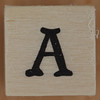 Stamp letter A