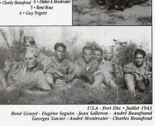 Usa-Fort Dix Juillet 1943