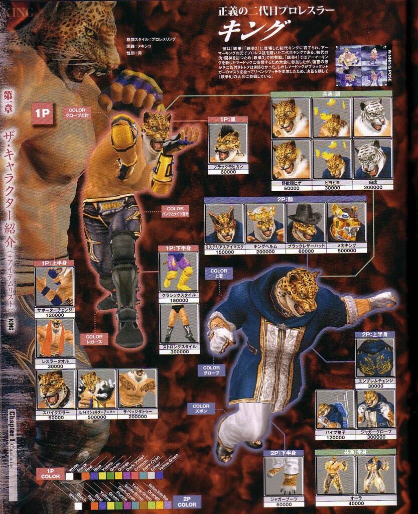 Tekken Zaibatsu Forums The Kings Locker Room