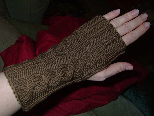 Irish Wrist Warmer #1