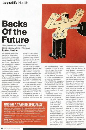 Backs of the Future
