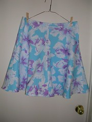 summer skirt finished
