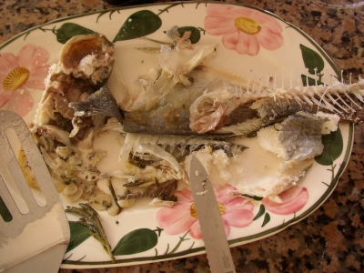Blog-Event X: Fisch - Dorada a la Sal