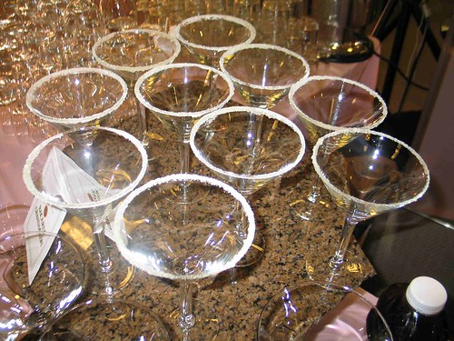 shoe-tini glasses ready to go