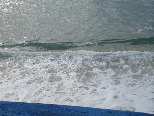 Ericeira mar com azul