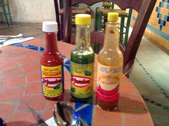 Hot sauces from Mexico