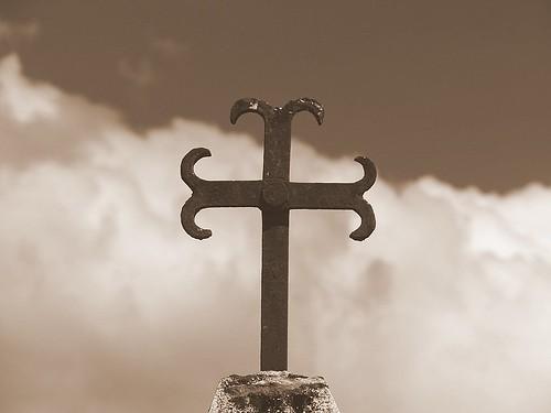 cross to the sky