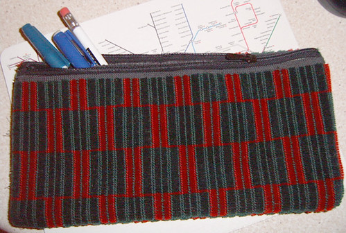 Tube Seat Upholstery Pencil Case