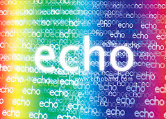 Echo貼紙