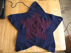 Baby Fly Afghan 1/3 complete