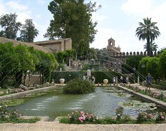 Dalam Alcázar de los Reyes Cristianos, Cordoba, Spain