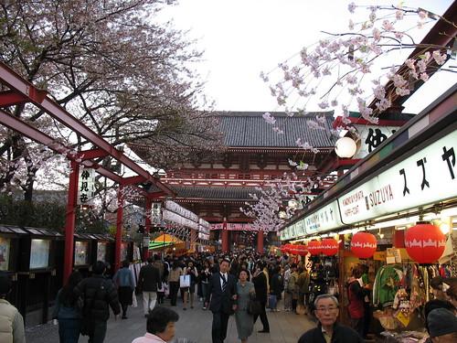 Asakusa - isprid hrama