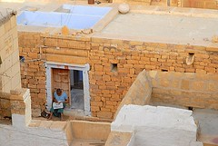 Morning Paper, Jaisalmer, Rajasthan, India Captured April 14, 2006.