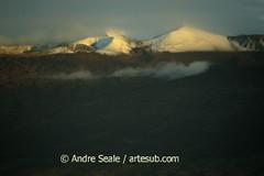Mauna Kea ao entardecer