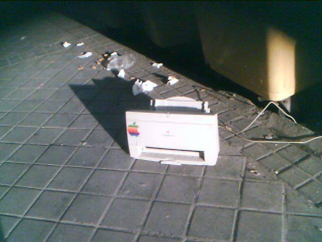 Mac en la basura