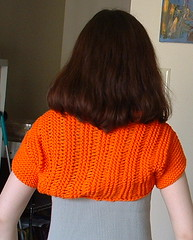 Tammy Shrug, back view