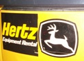 These two symbols should NEVER go together, John Deere equipment should never be rented