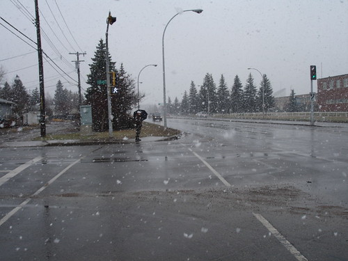Edmonton on Easter Sunday