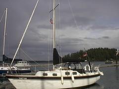 Wai Whare, a 26 foot sailboat