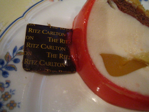 ritz carlton chocolate piece