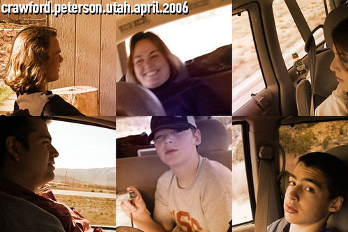 Utah Trip Collage, 2006