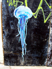 paste-up jellyfish