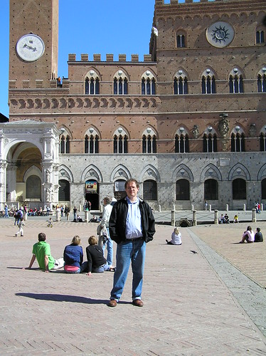 Yours truly, Piazza del Campo, Siena.