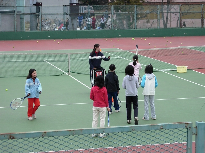 Tenis club for kids, early saturday morning