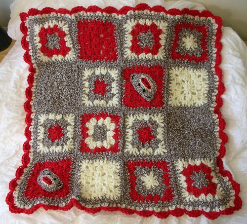 Fo Sock Monkey Blanket Crochet