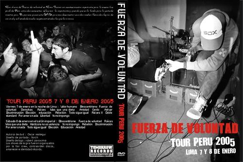 DISPONIBLE DVD DE FUERZA DE VOLUNTAD EN LIMA