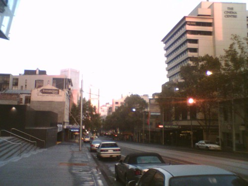 Melbourne at 7am